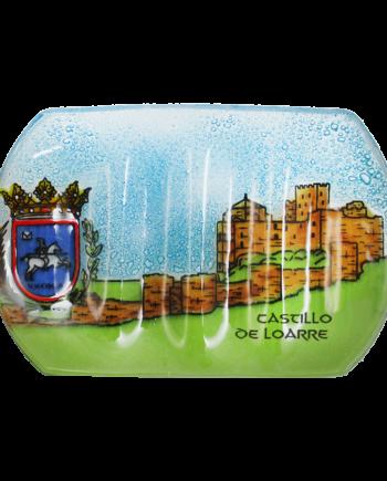 Castillo de Loarre handmade glass soap dish