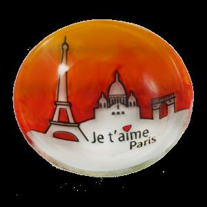 paris handmade glass je t'aims