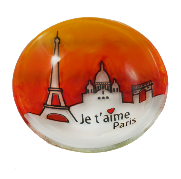 paris handmade glass je t'aims
