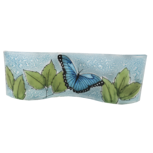 butterfly_animals_handame_glass